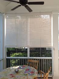 Porch Sun Shade Ideas by Bamboo Blinds For Screened Porch