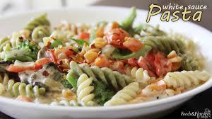 pasta in white sauce cheesy vegetable pasta easy kids snacks