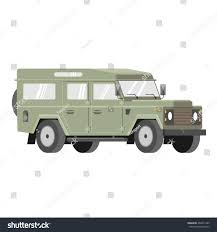 land rover defender vector cool retro styled suv off road stock vector 462631345 shutterstock