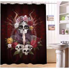 Skull And Crossbones Shower Curtain Best Pirate Shower Curtain Products On Wanelo