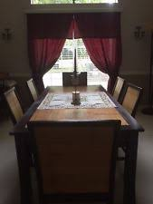 Bamboo Dining Room Chairs Bamboo Dining Table Ebay