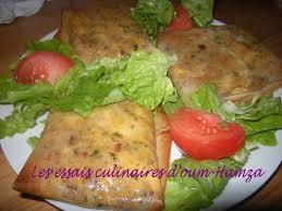 cuisine marocaine brick bricks pomme de terre viande hachée les essais culinaires d oum