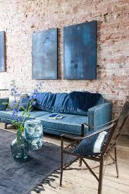 blue living room furniture blauw woonkamer blauw livingroom vtwonen 10 2016 photography