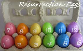 easter resurrection eggs easter activity resurrection eggs with free printables