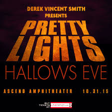 Halloween Lights Sale by Pretty Lights Announces Halloween Show At Ascend Amphitheater