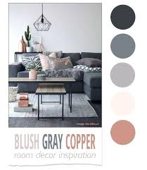what colors go with grey what colours go with charcoal grey blush gray copper room decor