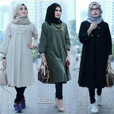 blouse wanita jual baju atasan blouse wanita baju muslim blus muslim ekhy tunik