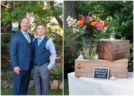 kathy chris rustic backyard wedding lin pernille photography