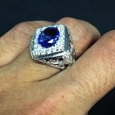 model cincin blue safir rectangle oval blue sapphire cz men end 3 11 2017 1 15 pm