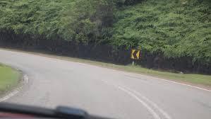 yellow volkswagen karak highway pocong gti february 2012