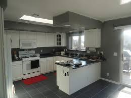 lavish white and grey kitchen for an elegant finish ideas 4 homes