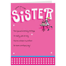 Free E Card Invitations Birthday Cards For Sister Free Printables Pinterest