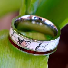Camouflage Wedding Rings by Wedding Rings