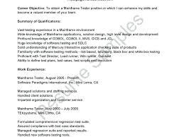 resume mobile testing resume for experienced download pleasant