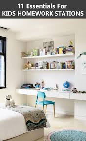 Home Design Essentials 2016 11 Essentials For Kids Homework Stations Contemporist