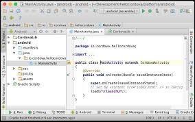 app building class android platform guide apache cordova