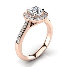 Engagement Ring Vs Wedding Ring by Halo Designer 18k Gold G Vs Round Diamond Engagement Ring 1 1ct By