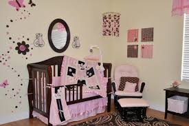 Leopard Crib Bedding Nursery Beddings Pink And Brown Paisley Crib Bedding Together
