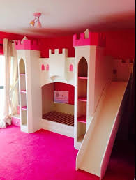 Slide Bunk Bed Castle Bunk Beds With Slide