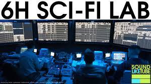 sci fi laboratory sound focusing noise masking high quality