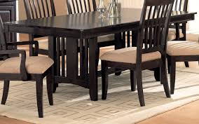 double pedestal dining room table 17075