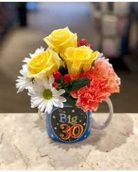30th birthday flowers and balloons happy 30th birthday flowers princeton nj monday morning flower and