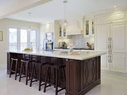 kitchen island ideas for small kitchens traditional kitchen by clark