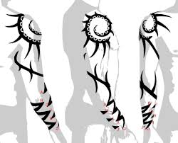 arm tribal designs az designs