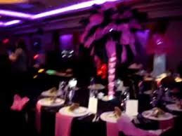 paris themed centerpiece rentals in pink u0026 black by sweet 16