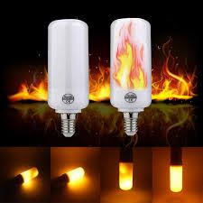 led flame effect fire light bulbs e14 e12 led flame effect fire light bulbs 2835 creative lights