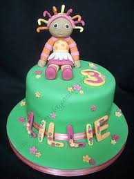 night garden christening cake iggle piggle upsy daisy