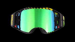 oakley goggles motocross airbrake mx goggle a revolution in impact protection youtube