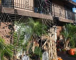 Unique Outdoor Halloween Decorations Exteriors Outdoor Halloween Decorations With Nice Lighting Spider
