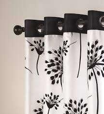 White Black Curtains Creative Of Black And White Window Curtains And Best 25 Black