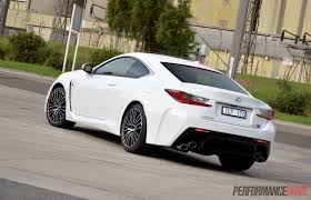lexus rc f weight 2015 lexus rc f review video performancedrive