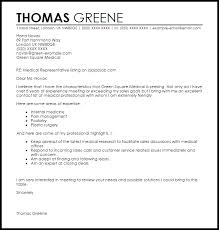 collection of solutions sample cover letter for medical