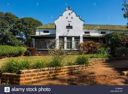 colonial house zomba plateau malawi africa stock photo royalty