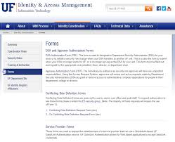 Uf Computing Help Desk Identity Management Campus Connect Ufit Service Catalog