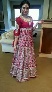anarkali wedding dress aarushi jain aarushijain9 on