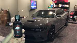 full paint correction and ceramic coating on 2017 charger best