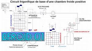 frigo chambre froide bfroid01 le circuit frigorifique dans une chambre froide positive