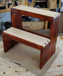 Wooden Step Stool Plans Free by Buy Step Stool Woodworking Plans Woodworking Design And Plans