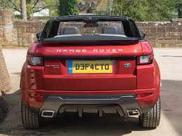 land rover range rover 2016 file land rover range rover evoque convertible 2016 rear jpg
