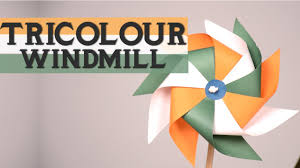 republic day special how to make tricolour windmill diy art