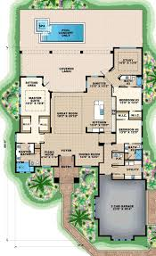 28 old florida style house plans olde home plan with courtyard poo
