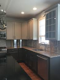 Taupe Kitchen Cabinets Painted Kitchen Cabinets Project Gallery By Grande Finale Designs