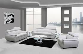 Faux Leather Living Room Set Naples White Leather Living Room Las Vegas Furniture Store