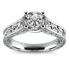 style wedding rings images Antique style wedding rings that are conflict free png