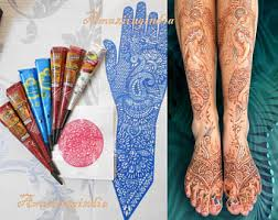 white henna kit etsy
