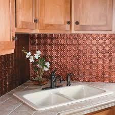easy to clean kitchen backsplash kitchen copper backsplash tiles it is easy to clean cabinet